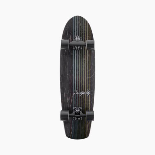 Landyachtz Surfskate Butter Black Lines Skateboard