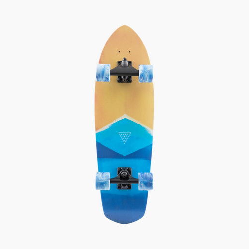 Landyachtz Surfskate Pocket Knife Watercolour Skateboard
