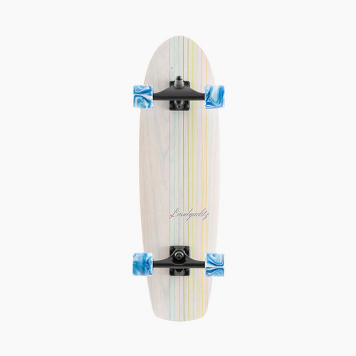 Landyachtz Surfskate Butter White Lines Skateboard