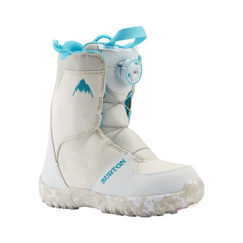 Burton Grom Boa Boots 2021 Kids in White