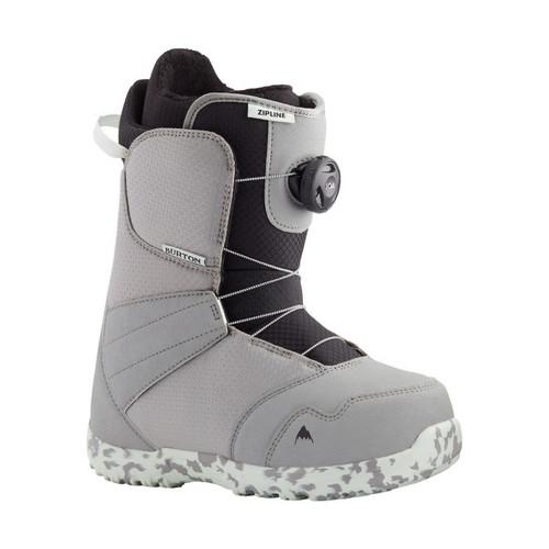 Burton Zipline Boa Boots 2021 Kids in Grey Neo Mint