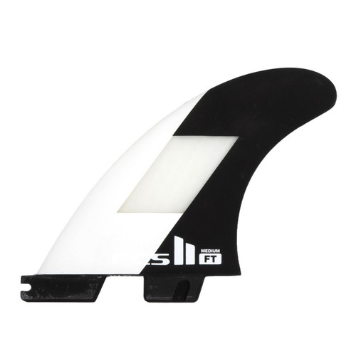 FCS II FT PC Medium Tri Fin Set in Off White Black