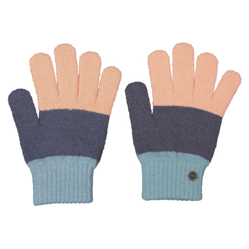 Roxy One Last Time Gloves Womens in Apricot Ice