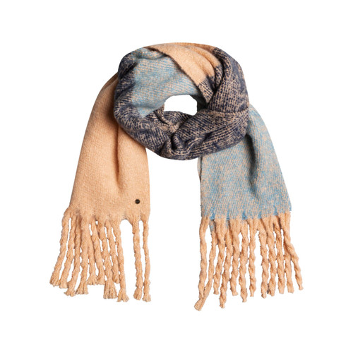 Roxy One Last Time Scarf Womens in Apricot Ice