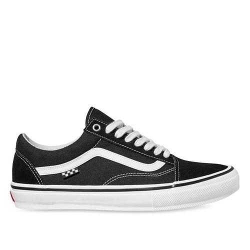 Vans Skate Old Skool Shoes in Black White