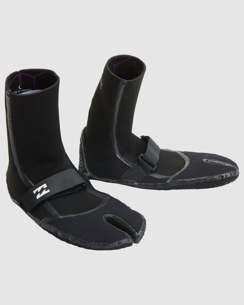 Billabong 2MM Furnace Comp Split Toe Bootie in Black