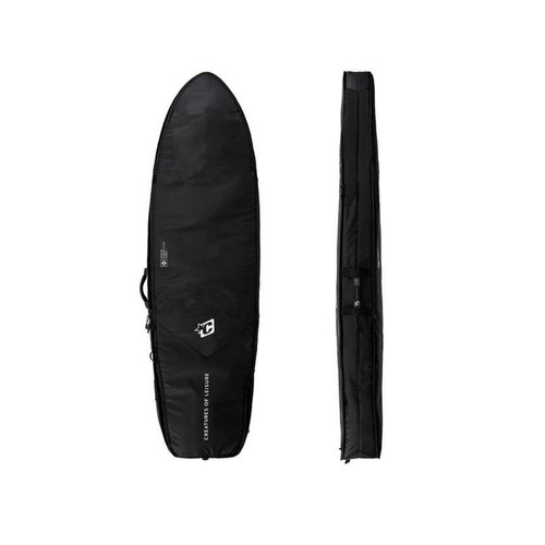 Creatures Of Leisure Fish Travel DT2.0 5ft 10 Cover in Black SIlver