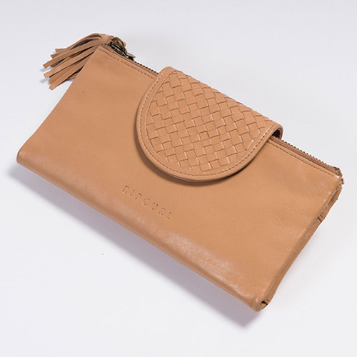 Rip Curl Paradise Cover RFID Oversize Wallet Ladies in Natural