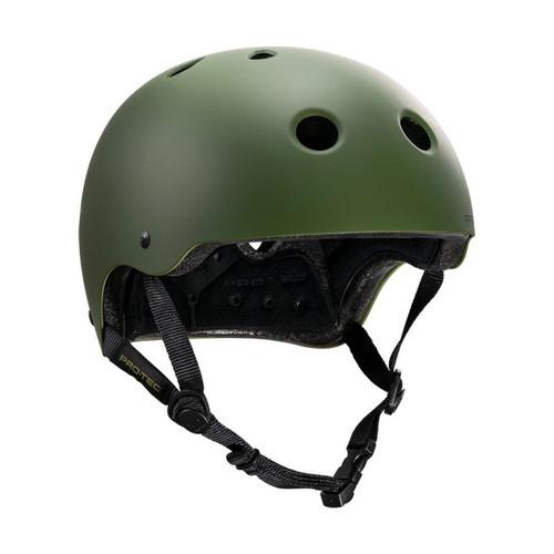 Protec Classic Certified Helmet in Matte Olive