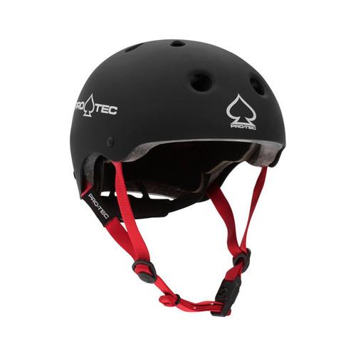 Protec Junior Classic Fit Certified Helmet in Matte Black