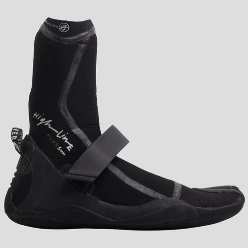 Quiksilver 5MM Highline+ Split Toe Bootie in Black