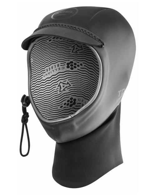 Xcel 3MM Drylock Neoprene Hood in Black
