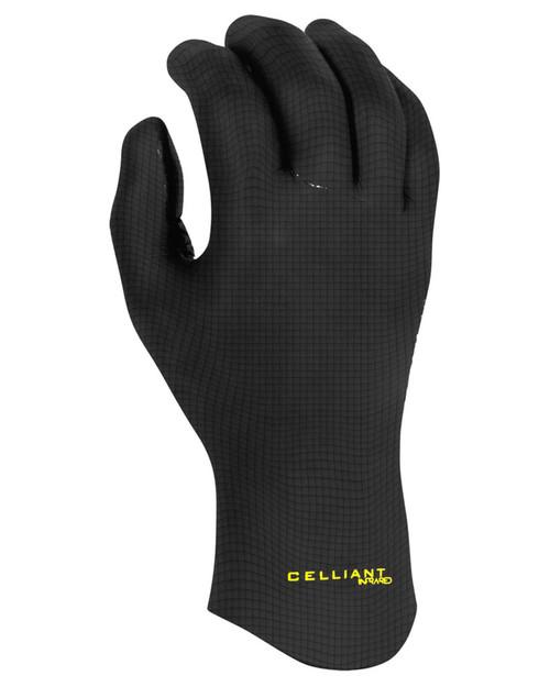 Xcel 2MM Comp 5 Finger Glove in Black