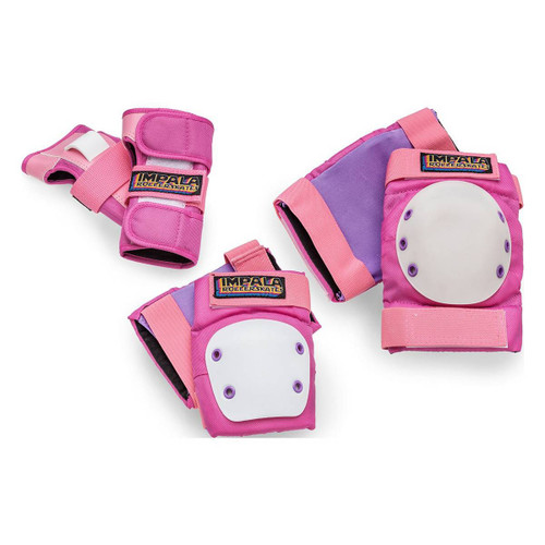 Impala Youth Protective Pad Set in Pink