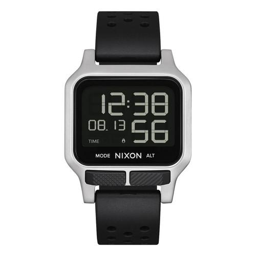 Nixon Heat Watch Mens in Silver