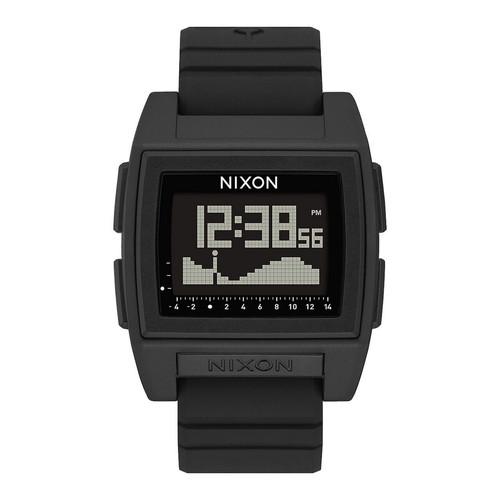 Nixon Base Tide Pro Watch Mens in Black