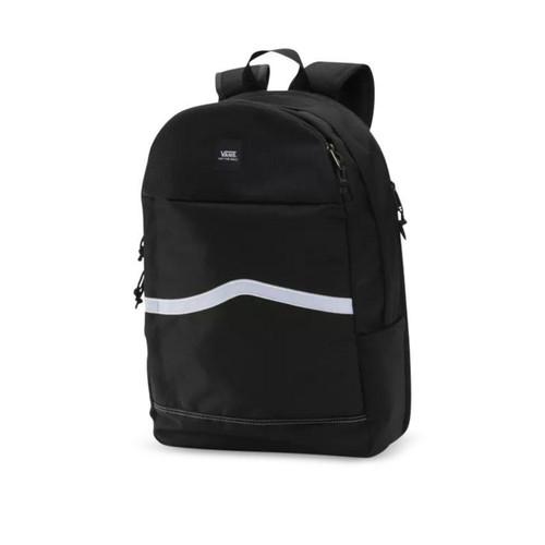 Vans Construct Backpack in Black White