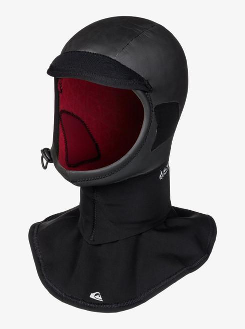 Quiksilver 2.0 Highline Plus Neoprene Hood with Dickie in Black