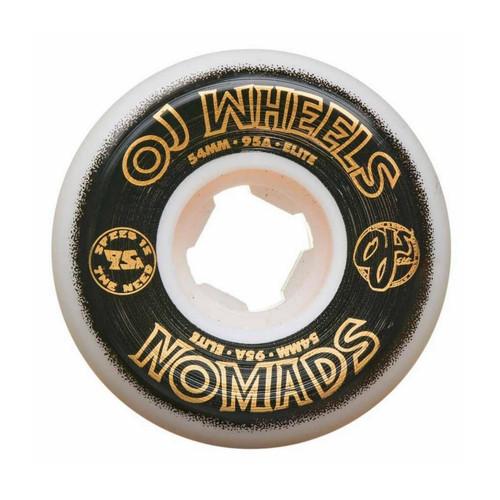 OJ Wheels Elite Nomads 54MM 95A Skate Wheels
