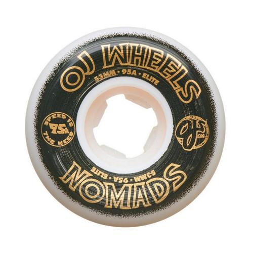 OJ Wheels Elite Nomads 53MM 95A Skate Wheels