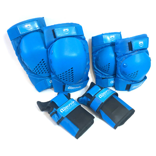 Adrenalin Skate Protection 6 Piece Youth Set in Blue