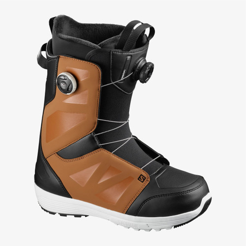 Salomon Launch BOA SJ Boots 2021 Mens in Rawhide Black White