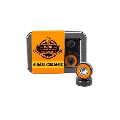 Rush 6 Ball Ceramic Bearings
