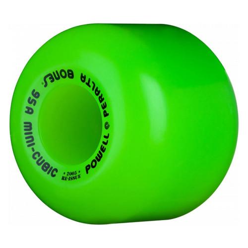 Powell Peralta Mini Cubic Green 64MM x 95A Skate Wheels