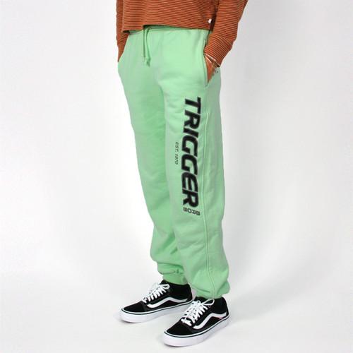 Trigger Bros Original Tracksuit Pants Kids in Mint