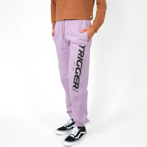 Trigger Bros Original Tracksuit Pant Mens in Lilac