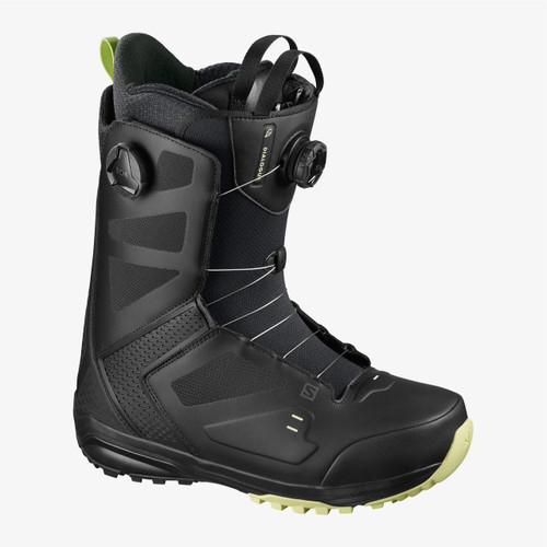 Salomon Dialogue Dual Boa Wide Boots 2021 Mens in Black Butterfly