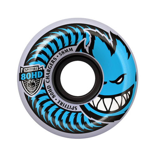 Spitfire 80HD Charger Clear Conical 54MM Skateboard Wheels