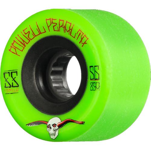 Powell Peralta SSF G Slides 56MM 85A Skate Wheels in Green