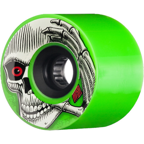 Powell Peralta SSF Pro Kevin Reimer 72MM 75A Skate Wheels in Green