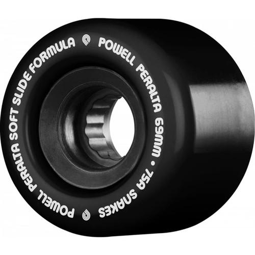 Powell Peralta SSF Snakes 69MM 75A Skate Wheels in Black