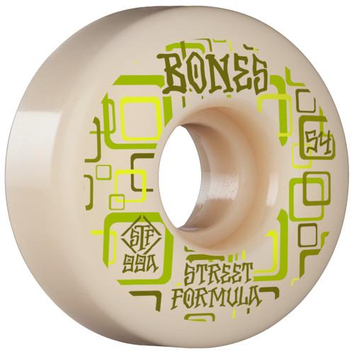 Bones STF V3 Retro 54MM x 99A Skate Wheels