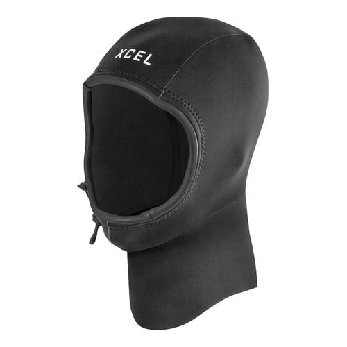 Xcel 2MM Axis Neoprene Hood in Black