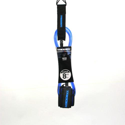 Trigger Bros 8ft Super Leash in Blue