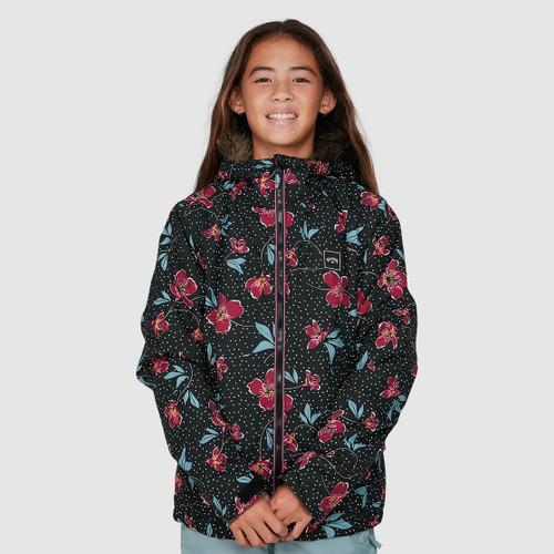 Billabong Sula Jacket 2021 Girls in Forest Night