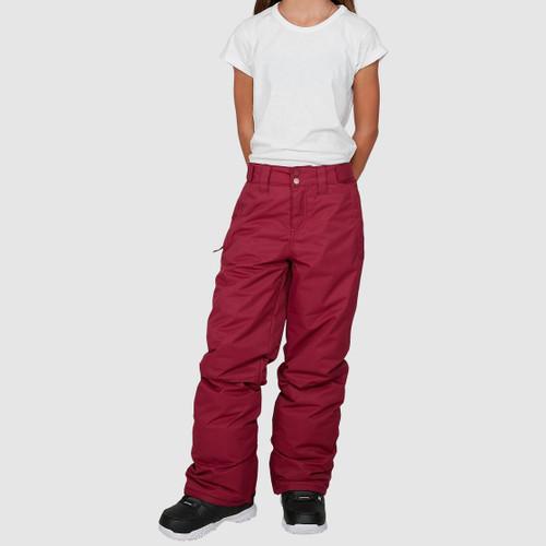 Billabong Alue Pant 2021 Girls in Ruby Wine
