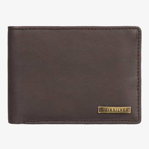 Quiksilver Gutherie IV Wallet Mens in Chocolate Brown