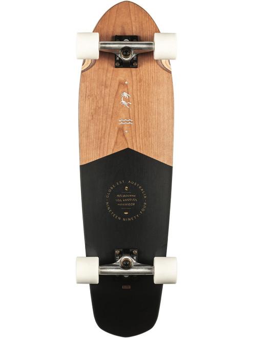 Globe Big Blazer 32in Cruiser Skateboard in Black Cherry
