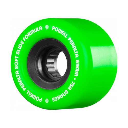 Powell Peralta SSF Snakes 66MM x 75A Skate Wheels in Green