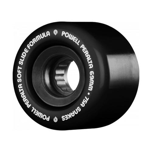 Powell Peralta SSF Snakes 66MM x 75A Skate Wheels in Black