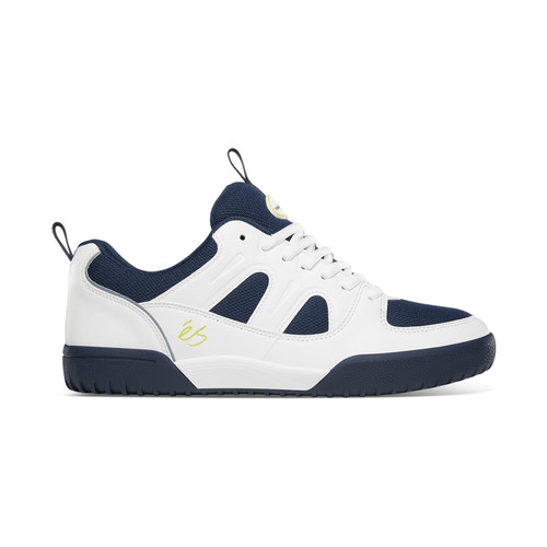 Es Silo SC Shoes Mens in White Navy