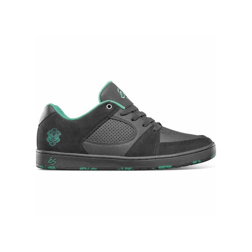 Es Accel Slim Shoes Mens in Black Green