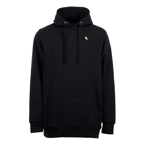 Yuki Threads Relaxed Old Mate Hoodie in Black