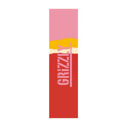 Grizzly Range Stamp Grip Tape Sheet in Red