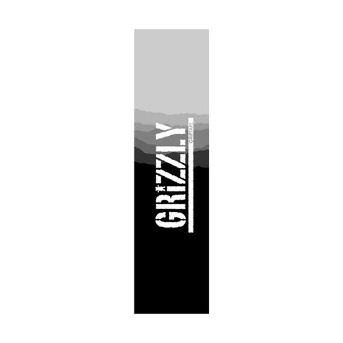 Grizzly Range Stamp Grip Tape Sheet in Black