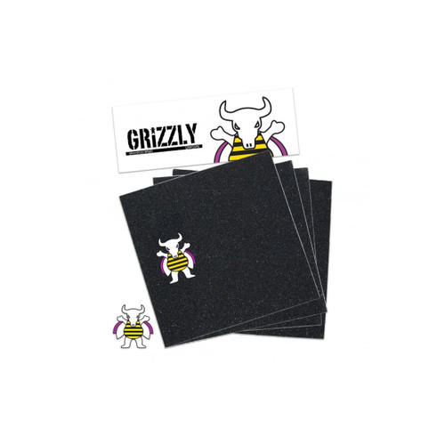 Grizzly Biebel Pro Squares Grip Tape